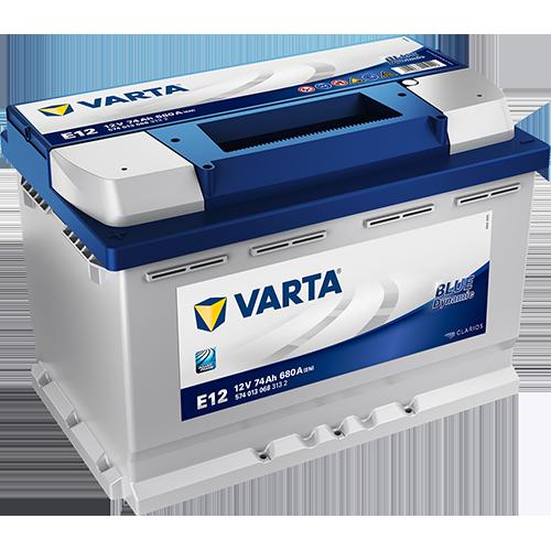 657 – VARTA E12 12V 74AH AUTOMOTIVE BATTERY